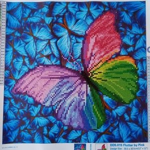 Completed 5d diamond painting